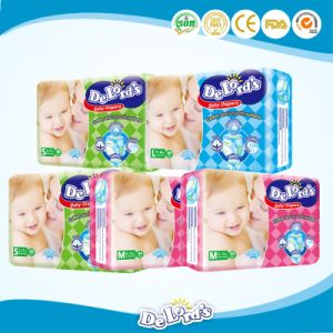 Disposable Soft Cotton Baby Diaper pictures & photos