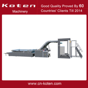 Semiautomatic Flute Laminating Machine-High Speed Type pictures & photos