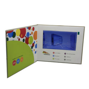 7.0inch LCD Screen Video Invitation Card pictures & photos