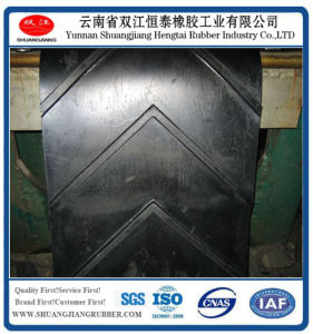 Patterned Conveyor Belts, Chevron V Rubber Belt pictures & photos