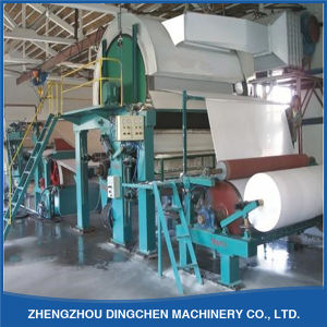 2400mm Single Cylinder High Speed Tissue Hygienic Paper Making Machine pictures & photos