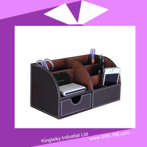 Leather Pen Holder for Office Supply Gift pictures & photos