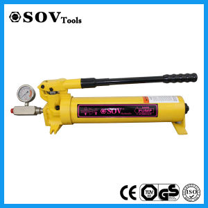 High Pressure Manual Hydraulc Pump pictures & photos