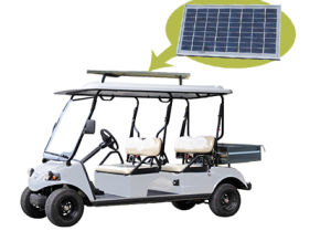 HDK Solar Panel EEC Electric Van With 4 Seat pictures & photos