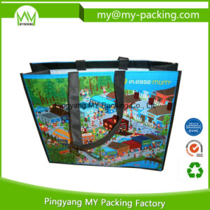 Superior Quality Promotion Shopping PP Woven Bag with Handle pictures & photos