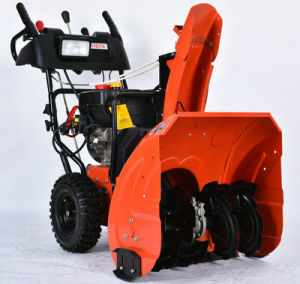 "242cc 24""Chain Drive Snow Blower pictures & photos"