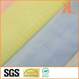 Polyester Light Colour Transparent Inherently Flame Retardant Fireproof Voile pictures & photos
