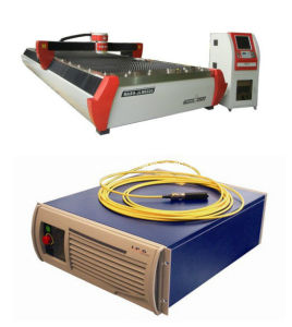 700W China Fiber Laser CNC Cutting Machine with 6020 Table pictures & photos