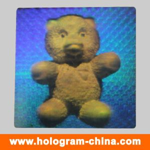 3D DOT Matrix Laser Hologram Label Printing pictures & photos