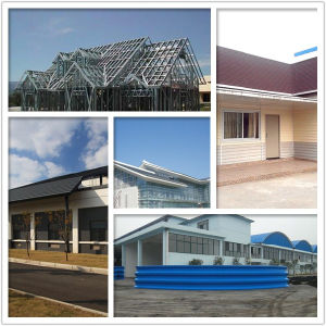 High Strength Recycled Steel Roof Tiles Roofing Panel Building Material pictures & photos