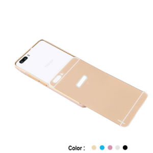 PC Back Cover Metal Bumper Combination Case for Honor 6 Plus