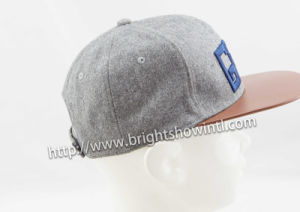 Fashion Custom Logo 3D Embroidery Flat Hiphop Snapback Baseball Cap pictures & photos