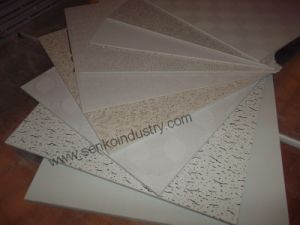 PVC Vinly Faced Gypsum Ceiling Tile for Office pictures & photos