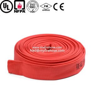 2 Inch Canvas Ageing Resistance of PU Cotton Fire Hose Price pictures & photos