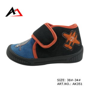 Injection Molding Shoes Casual Canvas for Children (Ak351) pictures & photos