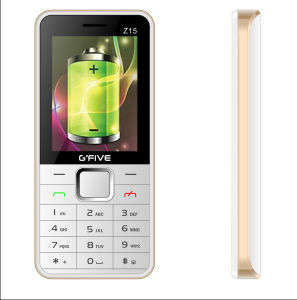 Gfive Z15 2.4′′ Cheap Bar Phone with Big Battery and Big Speaker