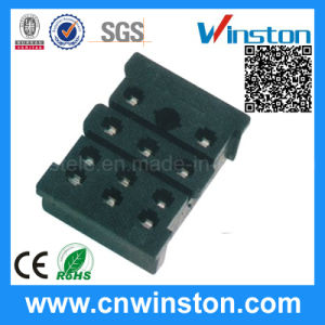Miniature Black Color Timer Industrial Relay Socket with CE pictures & photos