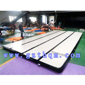 Wide Gymnastics Training Inflatable Gymnastics Mat Inflatable Air Tumble Trac Inflatable Tumbling Air Track pictures & photos