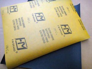 Waterproof Silicon Carbide Craft Paper for Auto Industry FM48 180# pictures & photos