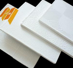Aluminum Foil Backing PVC Gypsum Ceiling (PVC film) pictures & photos