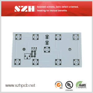 Double-Sided Rigid Aluminum PCB Board for LED pictures & photos