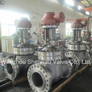 Flange RF or Bw Wedge Gate Valve with Rising Stem