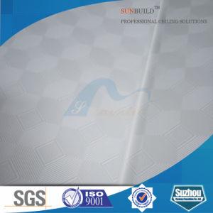 Gypsum Tile/Decorative PVC Gypsum Ceiling Tile (ISO, SGS) pictures & photos