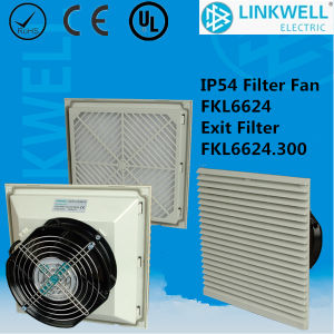 China Large Air Flow Fan Filter with Ce RoHS Certificate for Electrical Panel Enclosure (FKL6624) pictures & photos