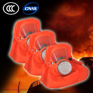 Fire Gas Smoke Filter Mask Breathing Filter Hood