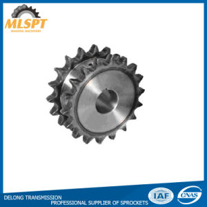Power Transmission Parts Steel Double Row Sprocket pictures & photos