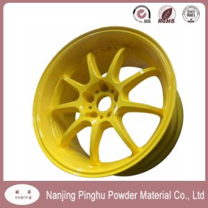 Yellow Powder Paint with Good Mechanical Property for Automobile pictures & photos