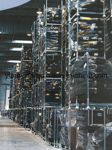 Warehouse Storage Mobile Rack with Post/Steel Pallets/Euro Pallets pictures & photos