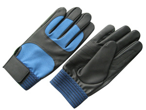 PU Palm Spandex Back Mechanic Work Glove-7102 pictures & photos