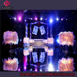 Hot Show Used LED Starlit Curtain for Wedding with Blue and White Lamp pictures & photos