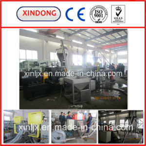 Starch Parallel Twin Screw Extruder Air Cooling Pelletizing Machine pictures & photos