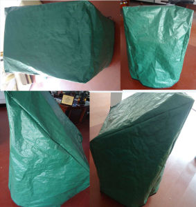 130GSM PE Woven Patio Garden Furniture Dust Cover pictures & photos