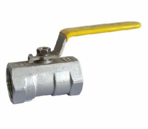 One-Piece Stainless Steel Ball Valve pictures & photos