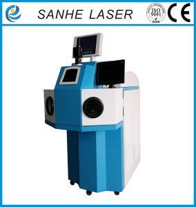 Automatic Metal Alloy Jewelry Laser Spot Welding Machinery/Welder Machine pictures & photos