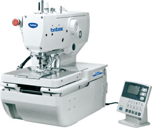 Br-9820 (BRITEX) High Speed Computerized Eyelet Holing Sewing Machine pictures & photos