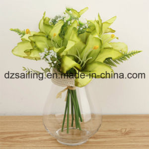 Colorful Artificial Lily Bouquet Flower for Home Decoration (SW12003) pictures & photos