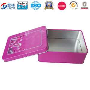 Free Sample Make up Box Mask Tin Cosmetic Packaging pictures & photos