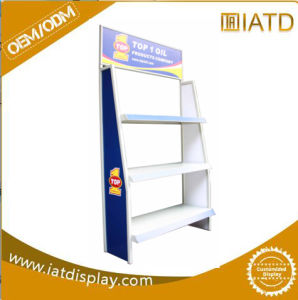 Modular Expandable Liquor and Alcoholic Beverage Wine Metal Display Rack pictures & photos