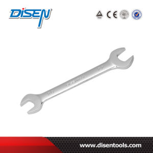 Professional Certificated Top Quality DIN 3110 Double Open End Wrench pictures & photos