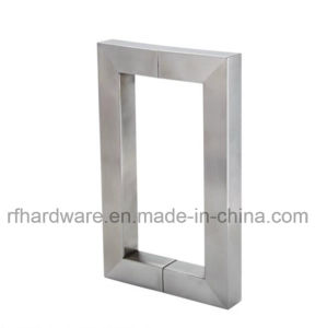 Furniture Stainless Steel Glass Door Pull Handle pictures & photos