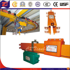 High Strength Durable Conductor Rail Trolley Busbar System pictures & photos