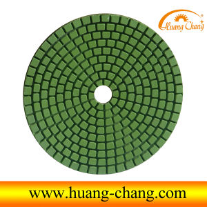 100mm Flexible Wet Diamond Polishing Pads