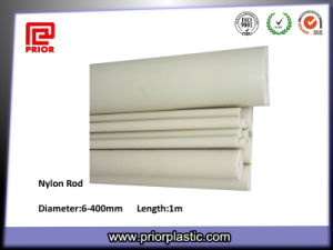 Extrude Nylon Round Bar White Color pictures & photos