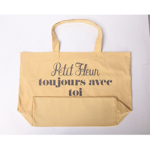 Wholesale Cheap Custom Reusable Foldable Nylon Women Fashion Tote Cotton Gift Shopping Bag with Logo pictures & photos