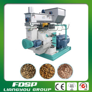 CE Certificated 1.5-1.8t/H Wood Chips Pellet Press Machine (MZLH520) pictures & photos