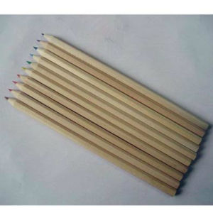 High Quality Recycled Wooden Color Pencil for Drawing pictures & photos